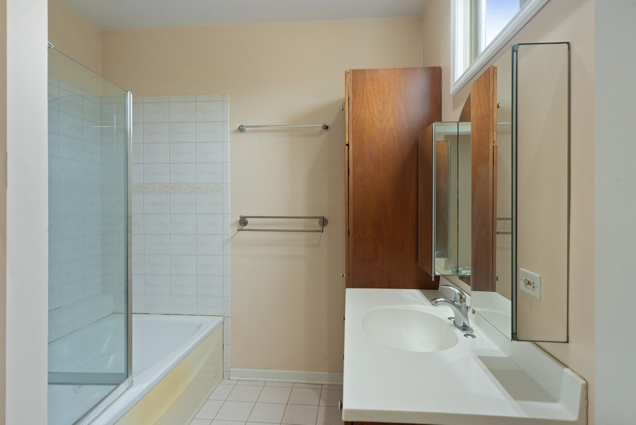 Real Estate Photography - 8319 N Waukegan, Niles, IL, 60714 - Master Bathroom