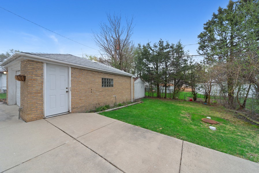 Real Estate Photography - 8319 N Waukegan, Niles, IL, 60714 - Back Yard