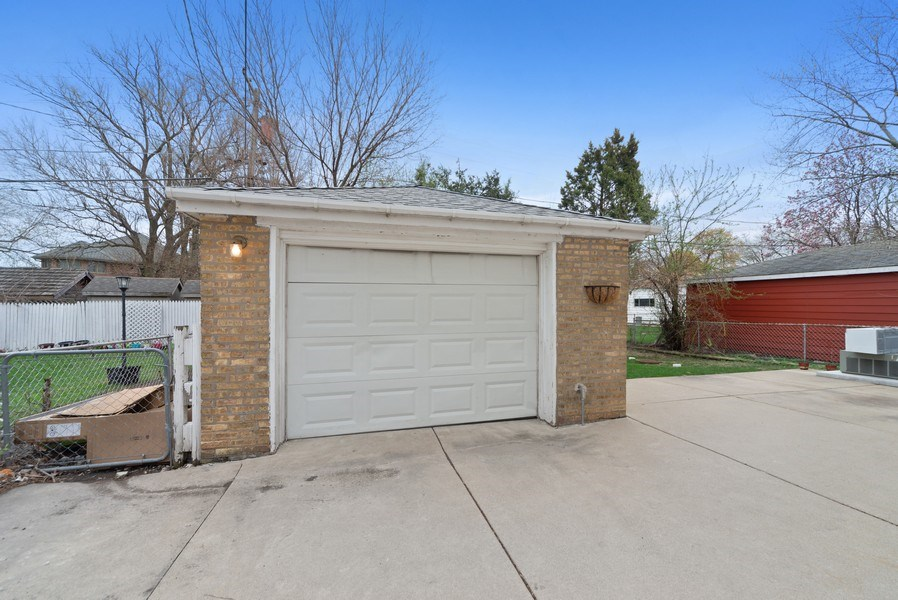 Real Estate Photography - 8319 N Waukegan, Niles, IL, 60714 - Garage