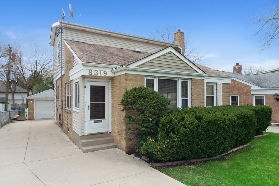 Real Estate Photography - 8319 N Waukegan, Niles, IL, 60714 - Front View