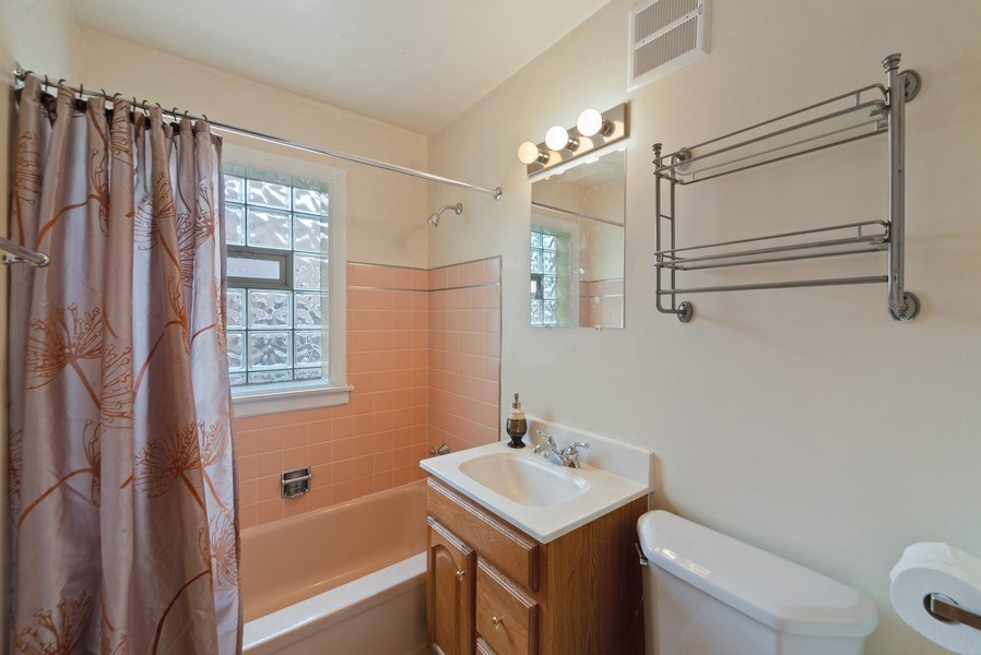 Real Estate Photography - 8319 N Waukegan, Niles, IL, 60714 - Bathroom