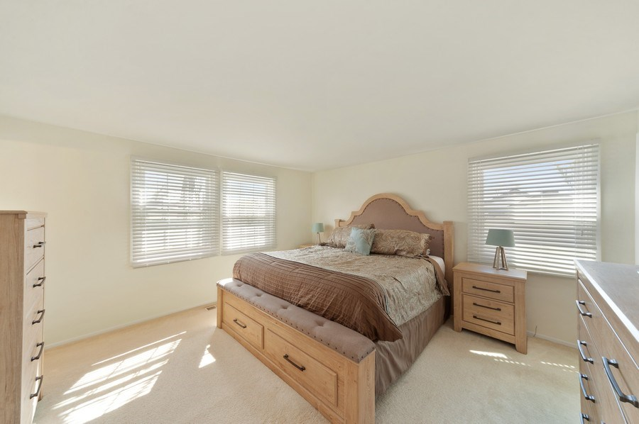 Real Estate Photography - 631 Indian Spring Lane, Buffalo Grove, IL, 60089 - Master Bedroom