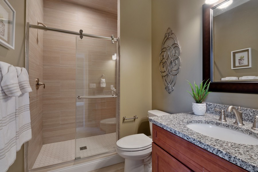 Real Estate Photography - 35 Roseanne Court, Twin Lakes, WI, 53181 - 3rd Bathroom