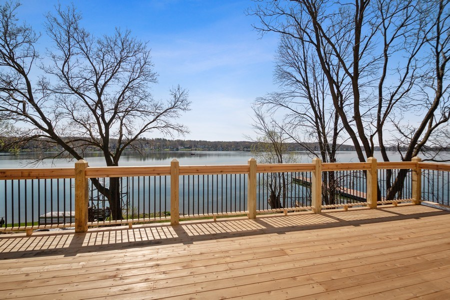 Real Estate Photography - 35 Roseanne Court, Twin Lakes, WI, 53181 - Master Suite Deck