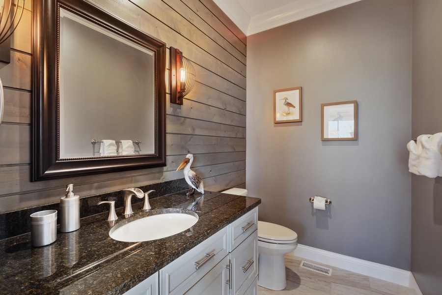 Real Estate Photography - 35 Roseanne Court, Twin Lakes, WI, 53181 - Bathroom
