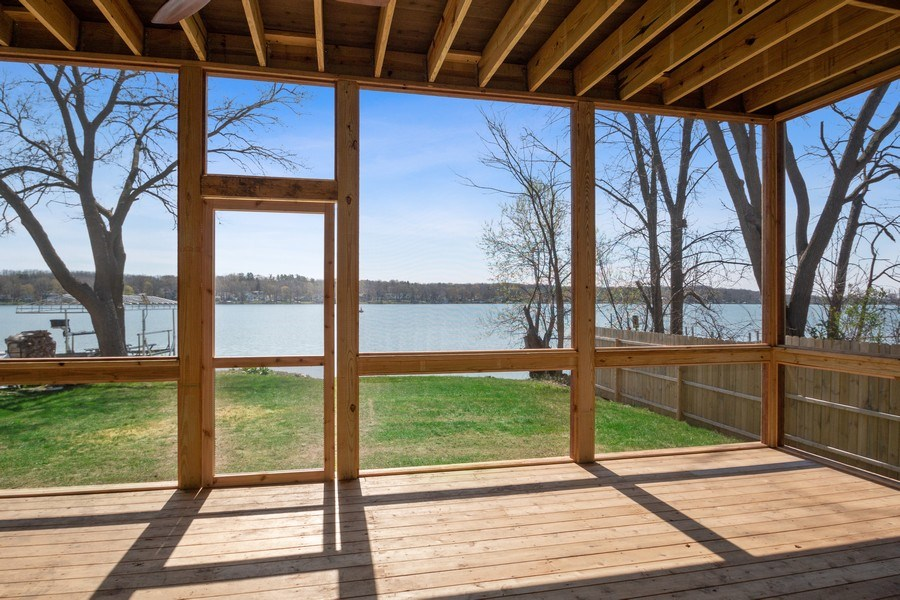 Real Estate Photography - 35 Roseanne Court, Twin Lakes, WI, 53181 - Screened Porch