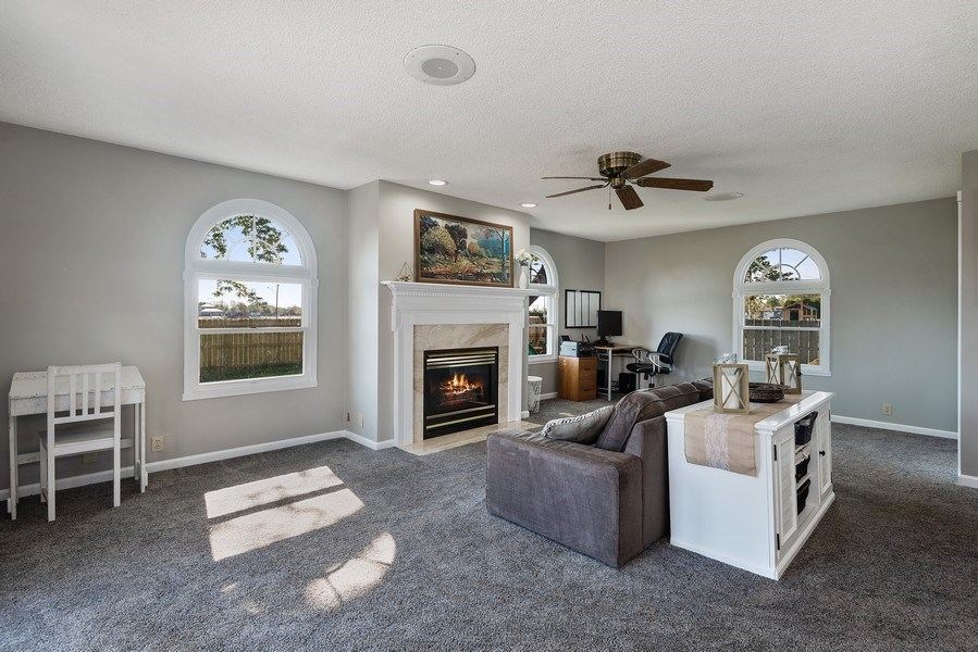 Real Estate Photography - 5993 James Drive, Stevensville, MI, 49127 - Family Room