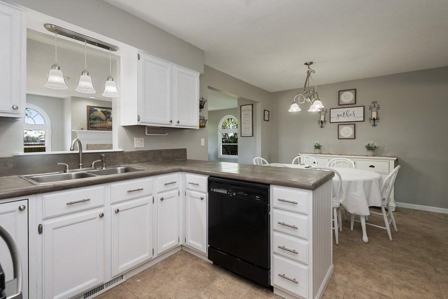 Real Estate Photography - 5993 James Drive, Stevensville, MI, 49127 - Kitchen