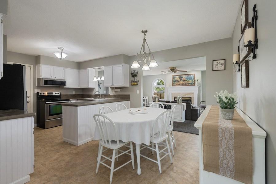 Real Estate Photography - 5993 James Drive, Stevensville, MI, 49127 - Kitchen / Dining Room