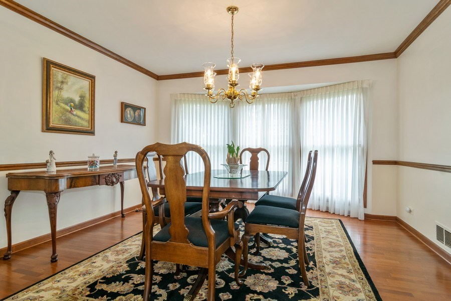 Real Estate Photography - 419 W. Whitehall Dr, Arlington Heights, IL, 60004 - Dining Room
