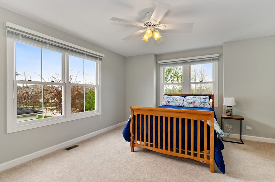 Real Estate Photography - 1680 Primrose lane, Glenview, IL, 60026 - 5th Bedroom