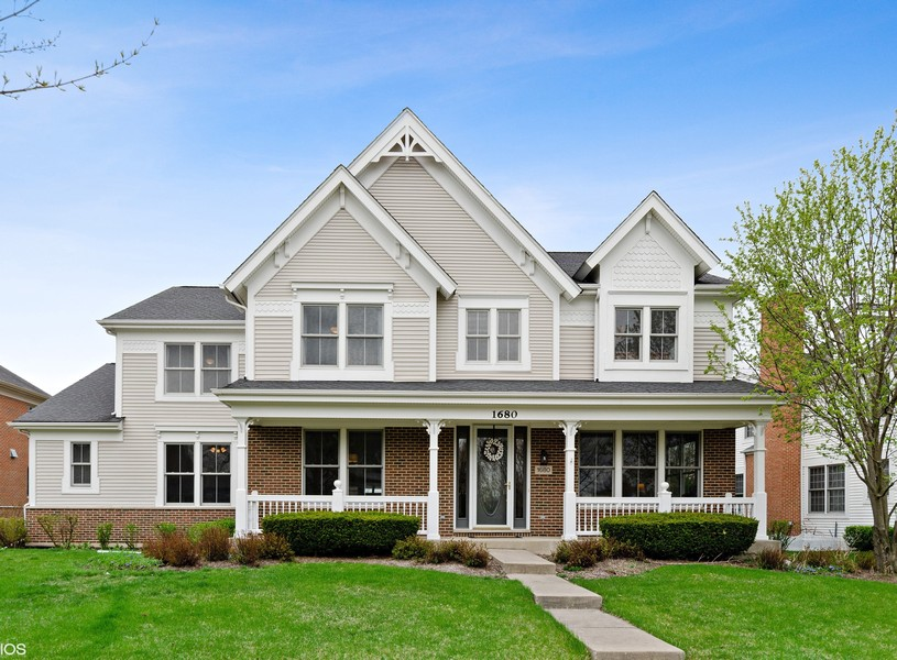Real Estate Photography - 1680 Primrose lane, Glenview, IL, 60026 - Front View