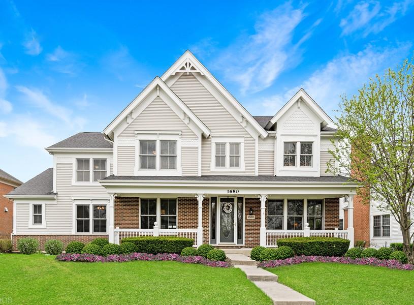 Real Estate Photography - 1680 Primrose lane, Glenview, IL, 60026 -