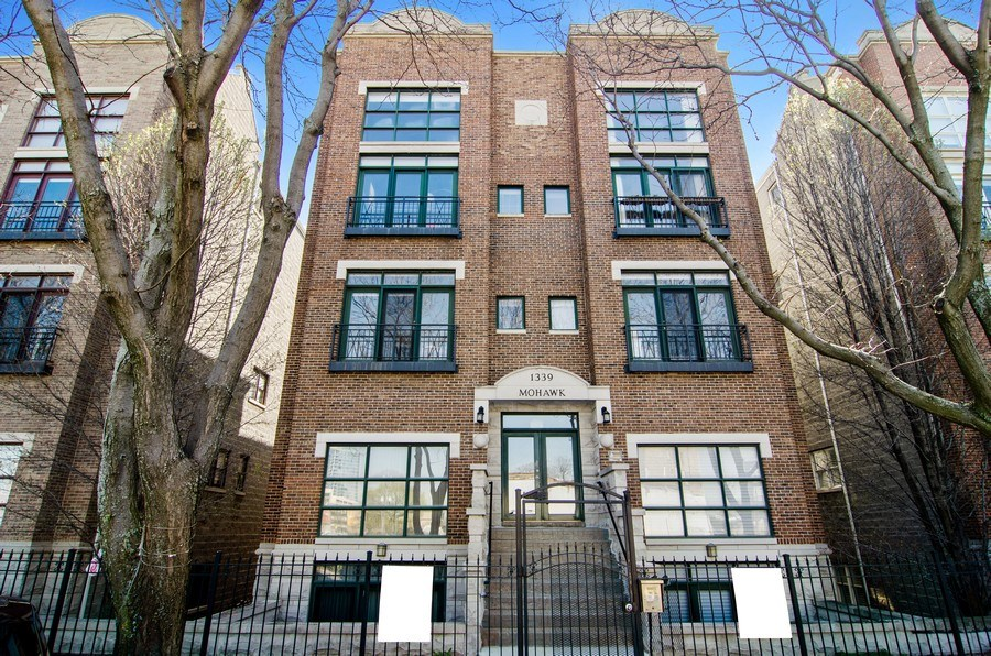 Real Estate Photography - 1339 N Mohawk #1N, Chicago, IL, 60610 - Front View