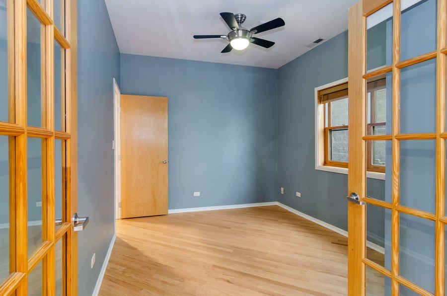 Real Estate Photography - 1339 N Mohawk #1N, Chicago, IL, 60610 - Bedroom