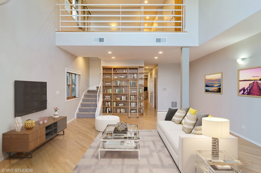 Real Estate Photography - 1339 N Mohawk #1N, Chicago, IL, 60610 -