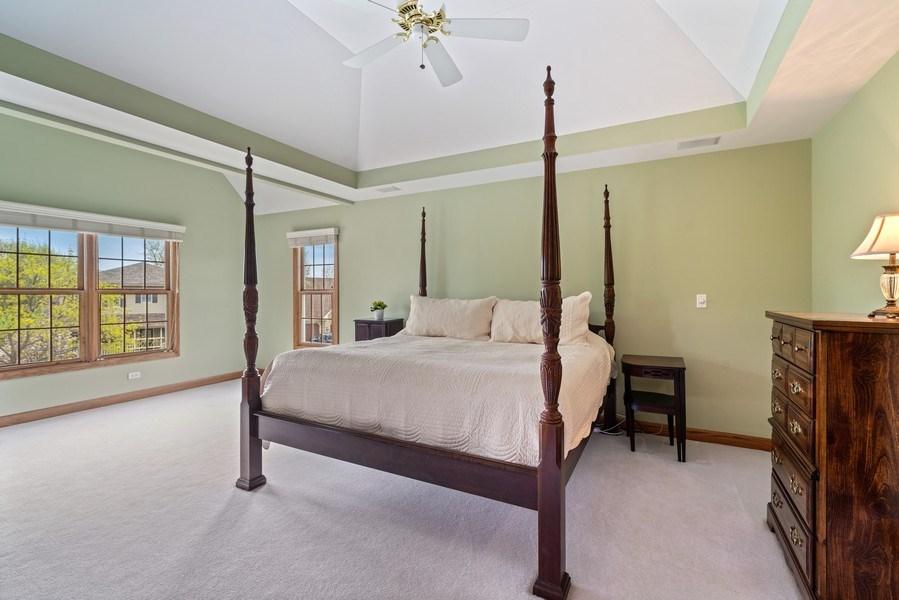 Real Estate Photography - 1468 Radcliff Lane, Aurora, IL, 60502 - Master Bedroom