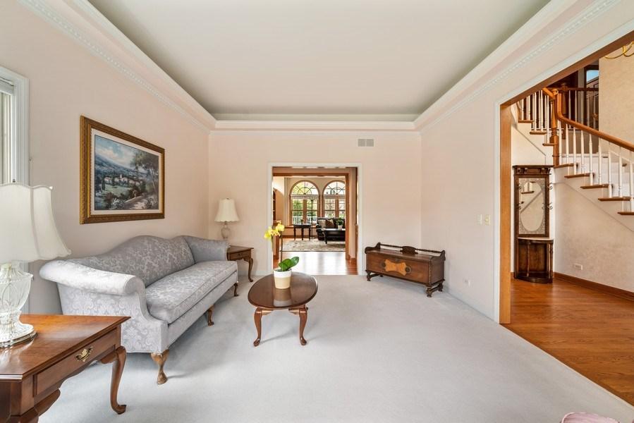 Real Estate Photography - 1468 Radcliff Lane, Aurora, IL, 60502 - Living Room