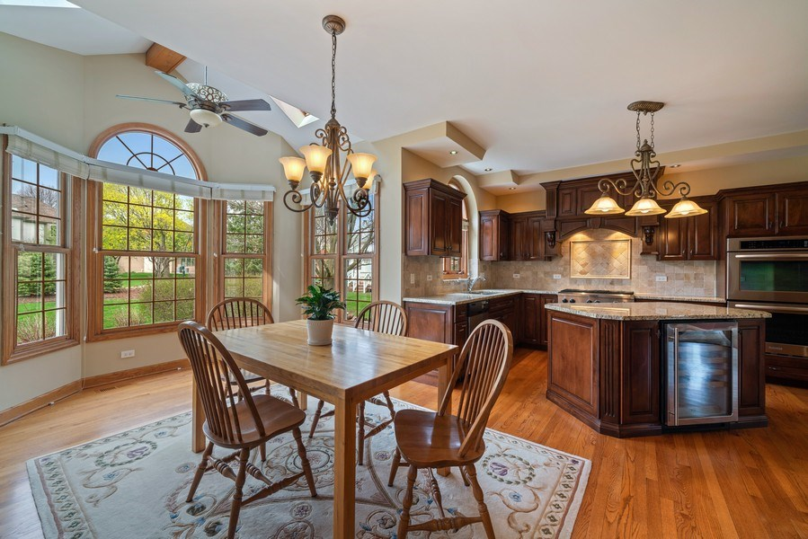 Real Estate Photography - 1468 Radcliff Lane, Aurora, IL, 60502 - Kitchen / Breakfast Room