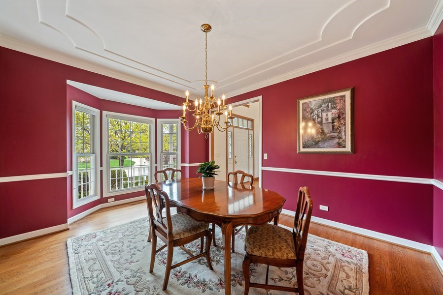 Real Estate Photography - 1468 Radcliff Lane, Aurora, IL, 60502 - Dining Room