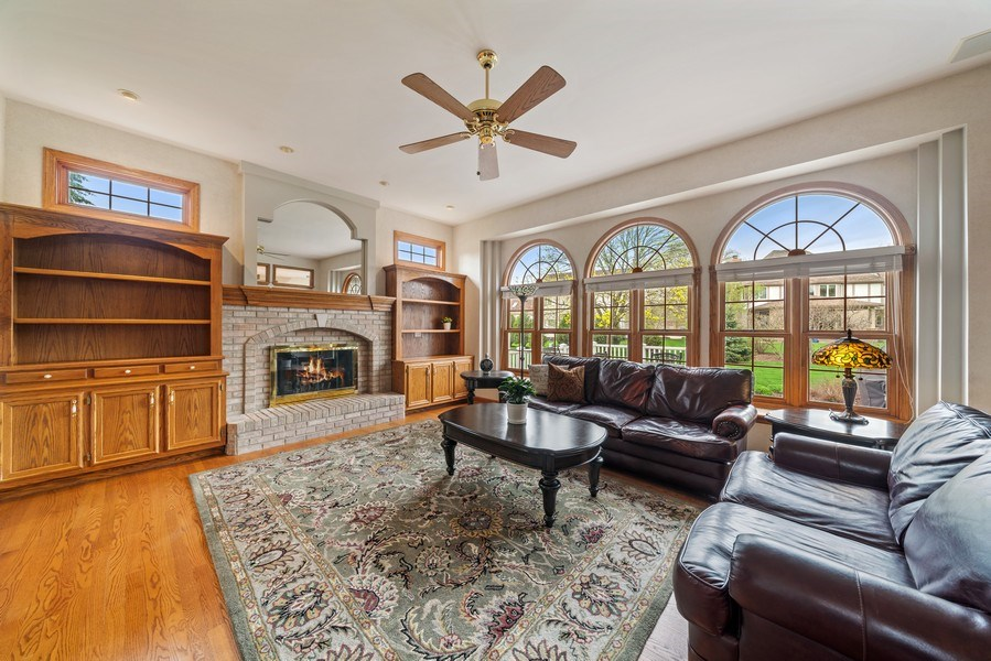 Real Estate Photography - 1468 Radcliff Lane, Aurora, IL, 60502 - Family Room