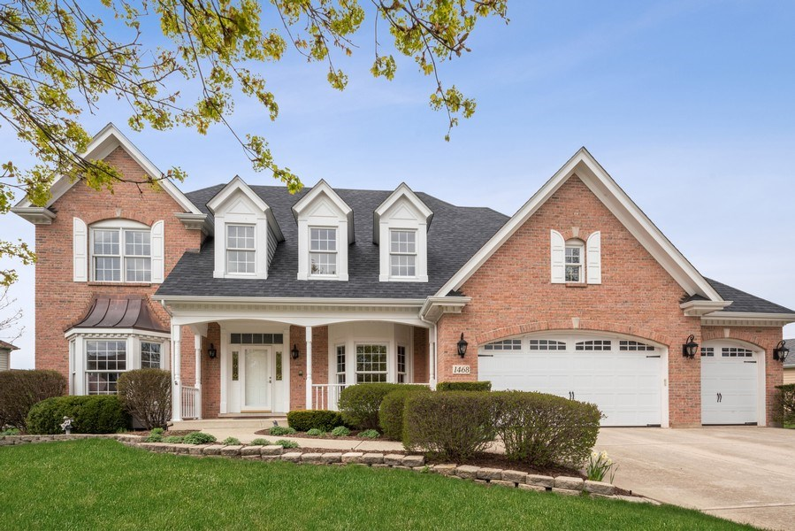 Real Estate Photography - 1468 Radcliff Lane, Aurora, IL, 60502 - Front View