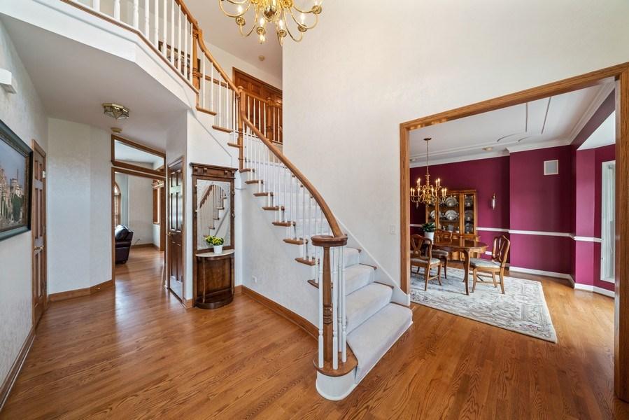 Real Estate Photography - 1468 Radcliff Lane, Aurora, IL, 60502 - Foyer