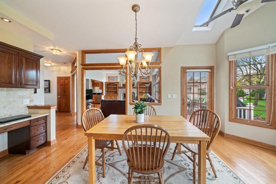 Real Estate Photography - 1468 Radcliff Lane, Aurora, IL, 60502 - Breakfast Area