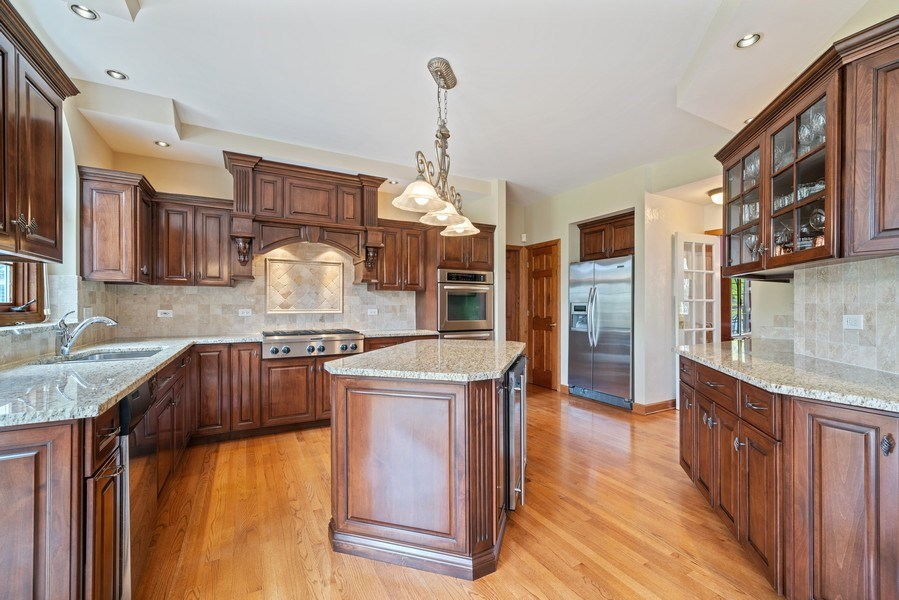 Real Estate Photography - 1468 Radcliff Lane, Aurora, IL, 60502 - Kitchen