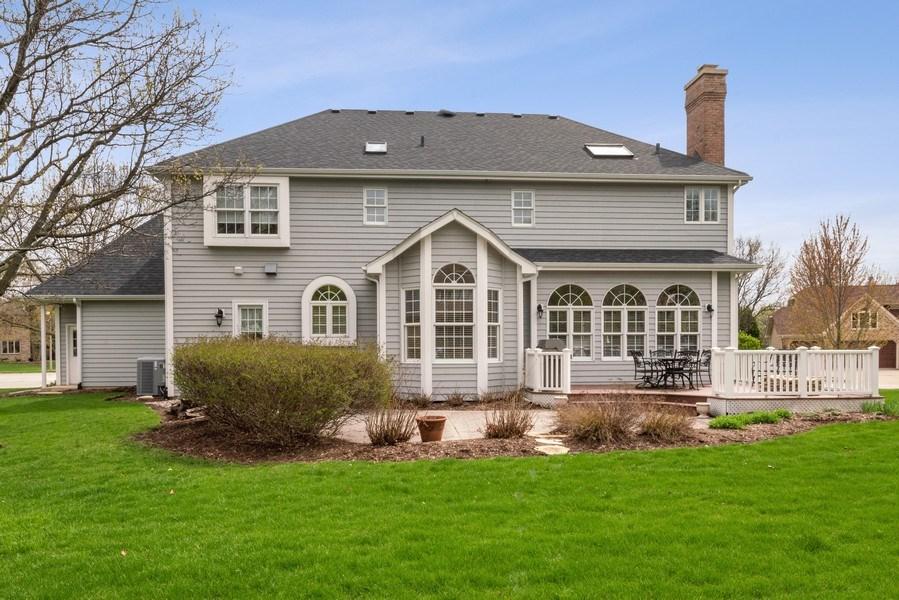 Real Estate Photography - 1468 Radcliff Lane, Aurora, IL, 60502 - Rear View