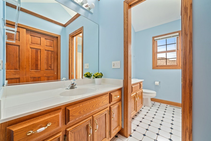 Real Estate Photography - 1468 Radcliff Lane, Aurora, IL, 60502 - 2nd Bathroom