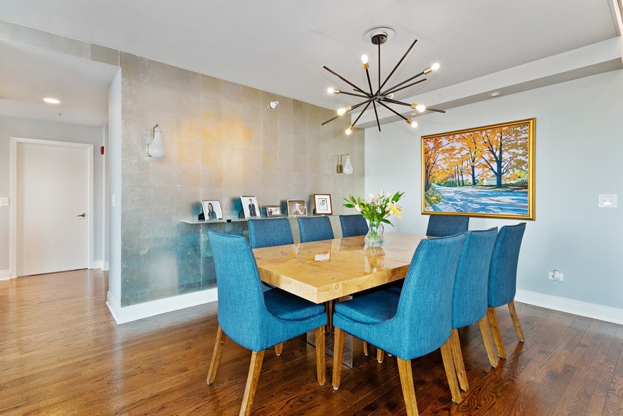 Real Estate Photography - 1640 Maple Avenue, Unit 1606, Evanston, IL, 60201 - Dining Room