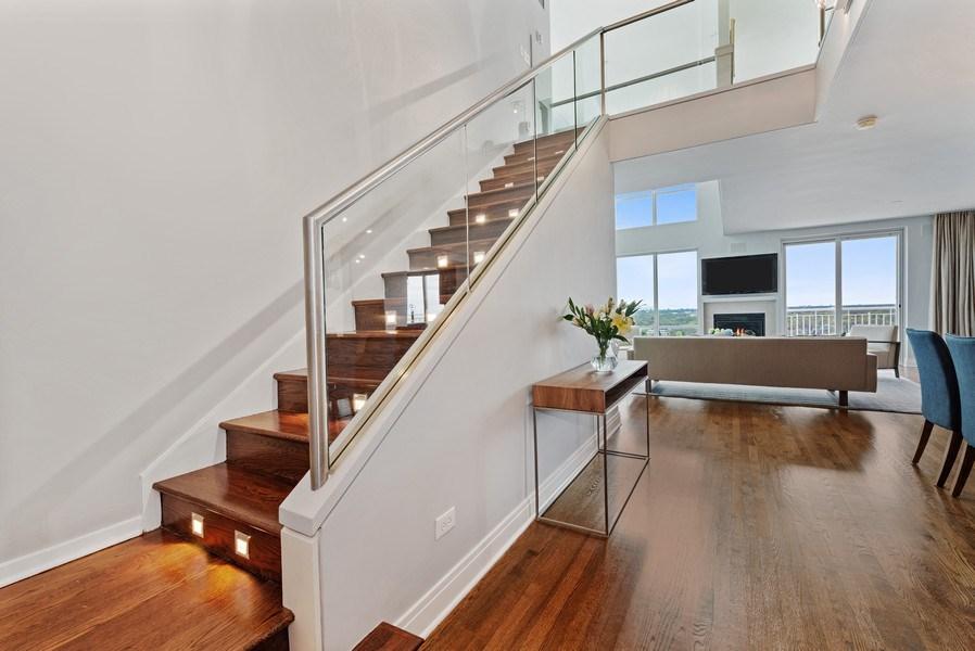 Real Estate Photography - 1640 Maple Avenue, Unit 1606, Evanston, IL, 60201 - Foyer