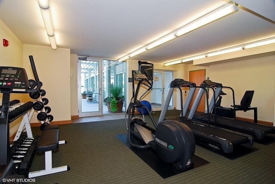 Real Estate Photography - 1640 Maple Avenue, Unit 1606, Evanston, IL, 60201 - Exercise Room