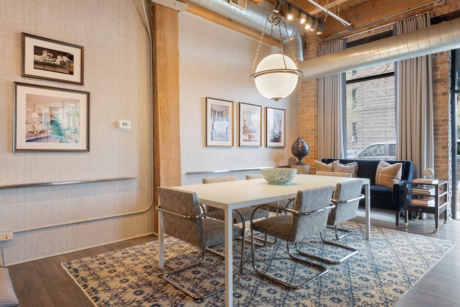 Real Estate Photography - 2401 W Ohio, #1, Chicago, IL, 60612 - Conference Room
