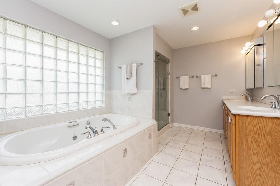 Real Estate Photography - 748 Warren, Palatine, IL, 60067 - Master Bathroom
