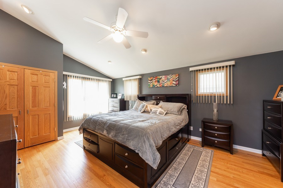 Real Estate Photography - 748 Warren, Palatine, IL, 60067 - Master Bedroom