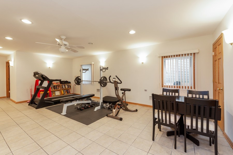 Real Estate Photography - 748 Warren, Palatine, IL, 60067 - Exercise Room