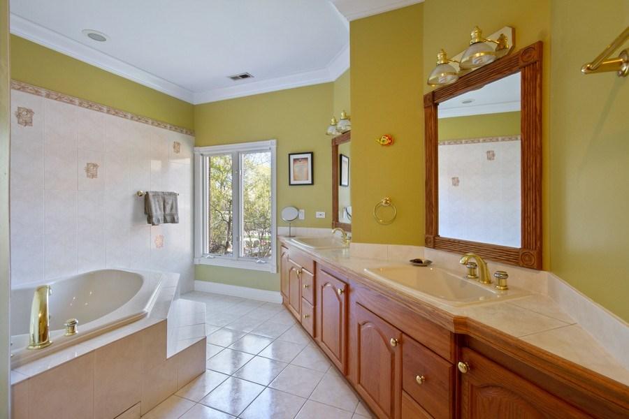 Real Estate Photography - 128 Washington, Park Ridge, IL, 60068 - Master Bathroom