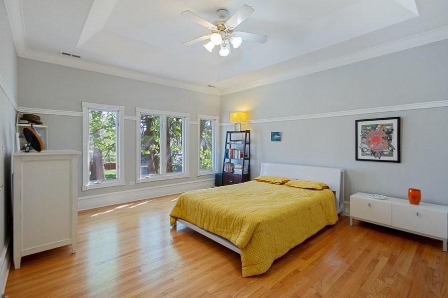 Real Estate Photography - 128 Washington, Park Ridge, IL, 60068 - Master Bedroom