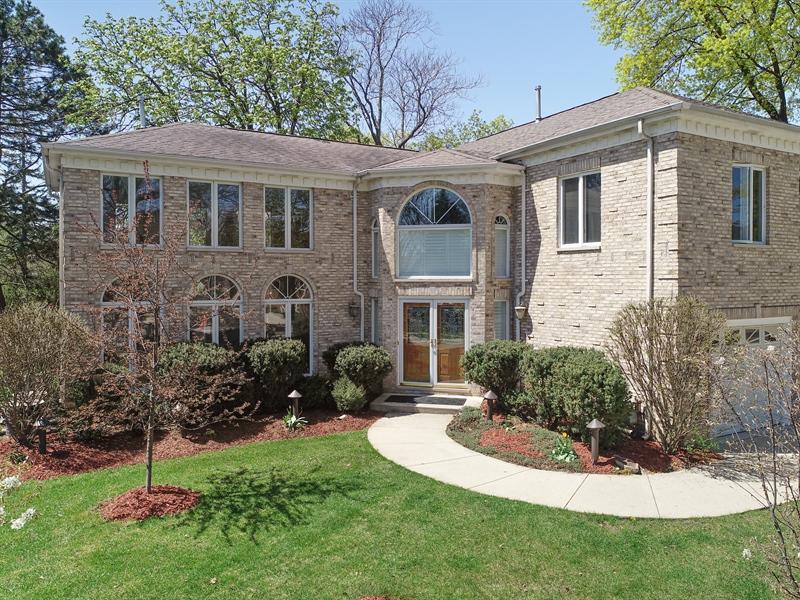 Real Estate Photography - 128 Washington, Park Ridge, IL, 60068 - Aerial View