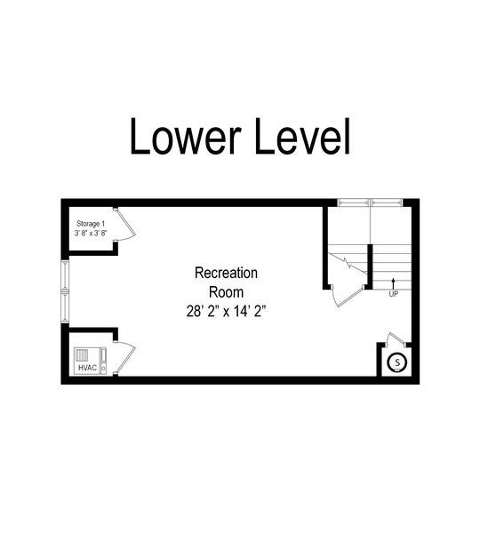 Real Estate Photography - 128 Washington, Park Ridge, IL, 60068 - Floor Plan