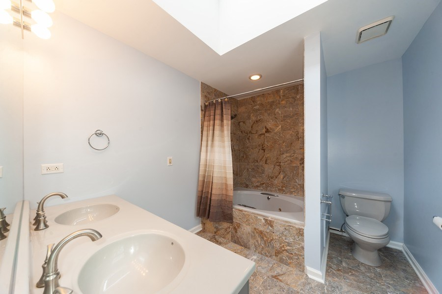Real Estate Photography - 2637 N Marshfield Ave, Chicago, IL, 60614 - Master Bathroom