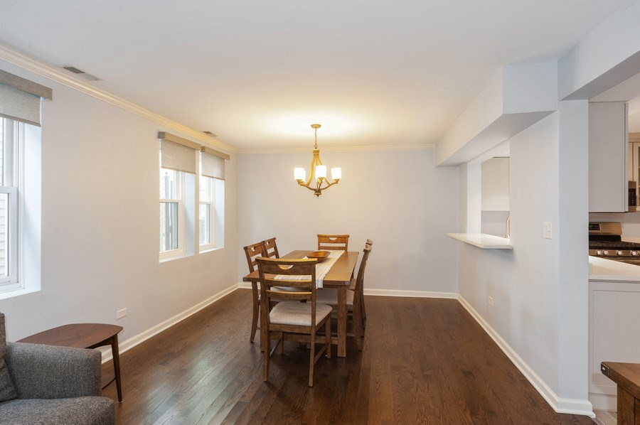 Real Estate Photography - 2637 N Marshfield Ave, Chicago, IL, 60614 - Dining Room
