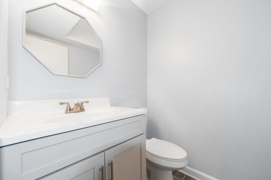 Real Estate Photography - 2637 N Marshfield Ave, Chicago, IL, 60614 - Half Bathroom
