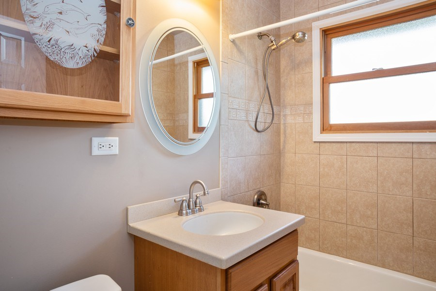 Real Estate Photography - 1318 W Grove St, Arlington Heights, IL, 60005 - Bathroom