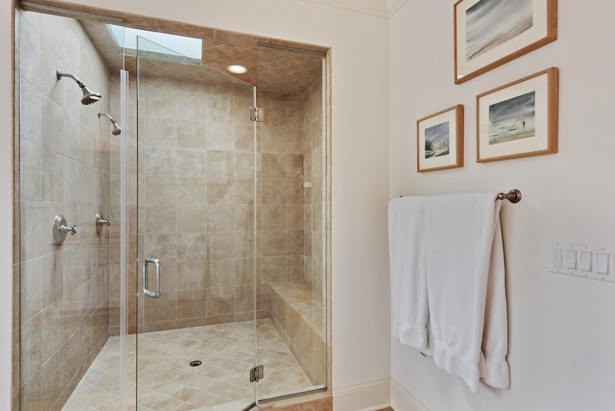 Real Estate Photography - 720 Rosewood, Winnetka, IL, 60093 - Master Bathroom