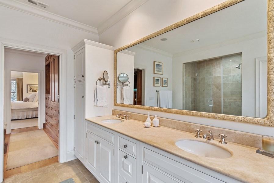 Real Estate Photography - 720 Rosewood, Winnetka, IL, 60093 - Bathroom