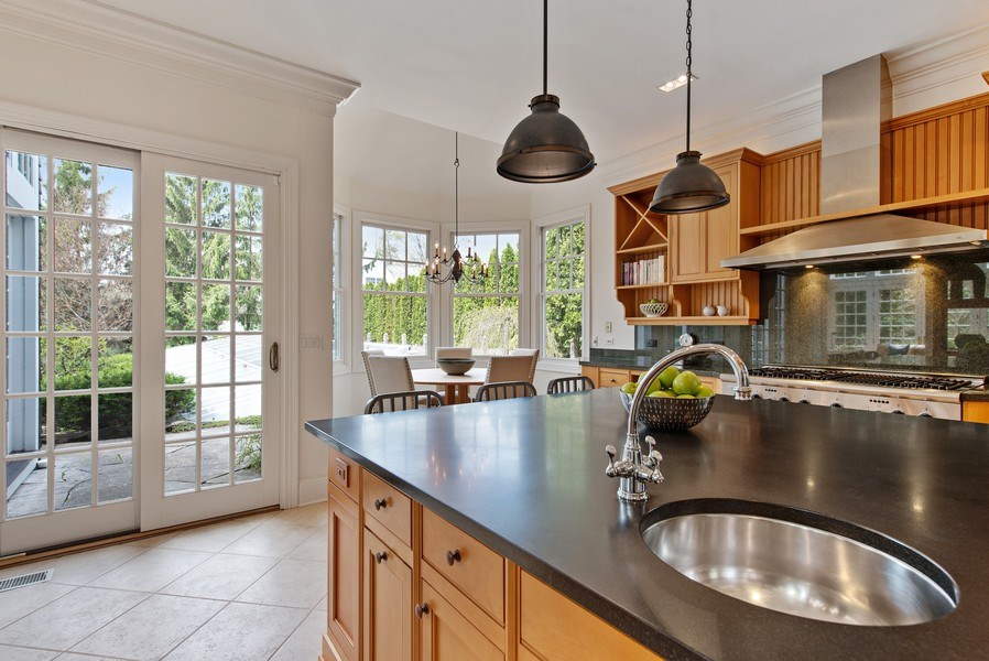 Real Estate Photography - 720 Rosewood, Winnetka, IL, 60093 - Kitchen