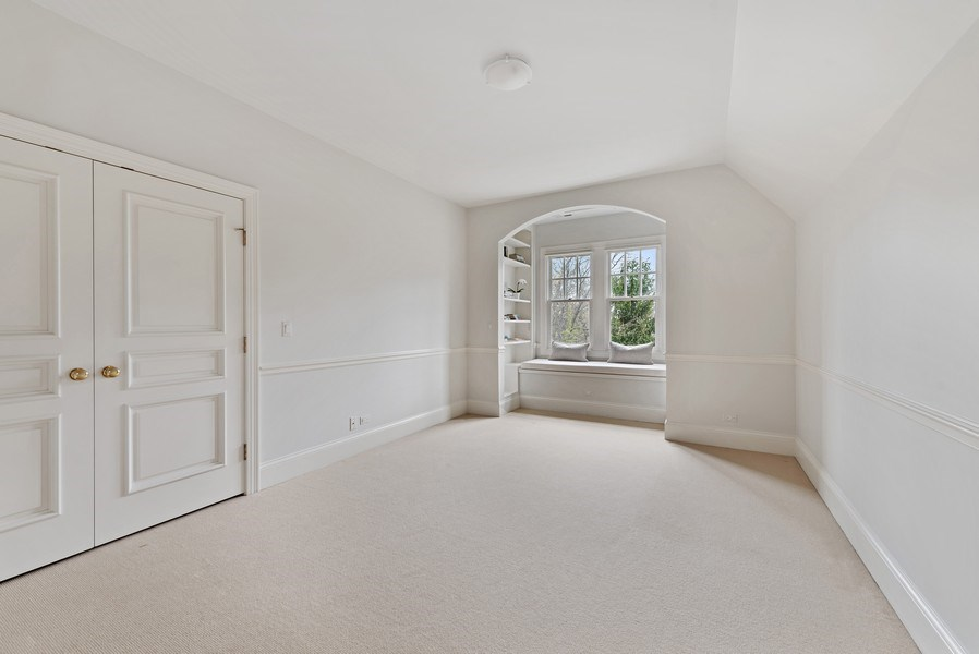 Real Estate Photography - 720 Rosewood, Winnetka, IL, 60093 - Bedroom